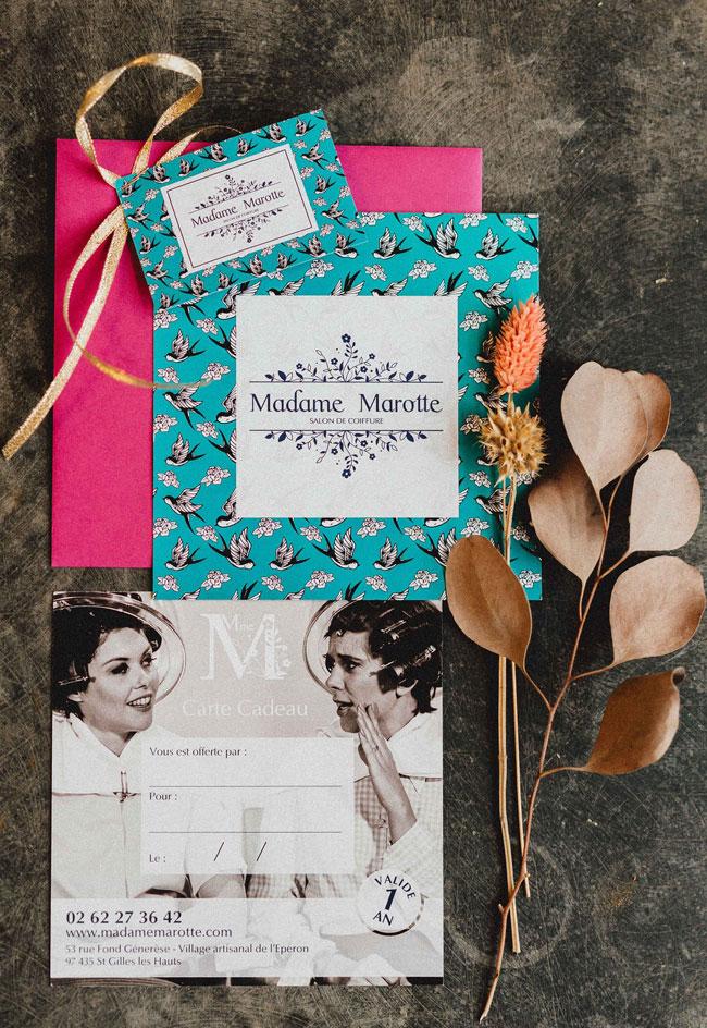 Carte Cadeau - Madame Marotte