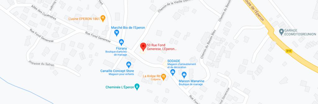 Madame Marotte - map