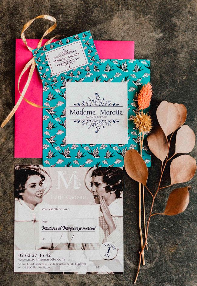 Madame Marotte - Carte Cadeau